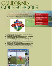 California Golf Lessons Schools And Academies